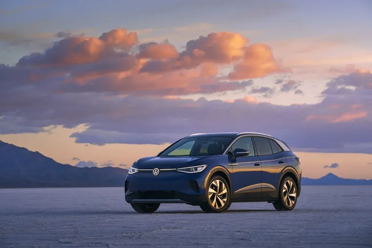 From the outside, the all-new 2021 Volkswagen ID.4 Pro doesn't look much different from its gasoline-powered brethren.