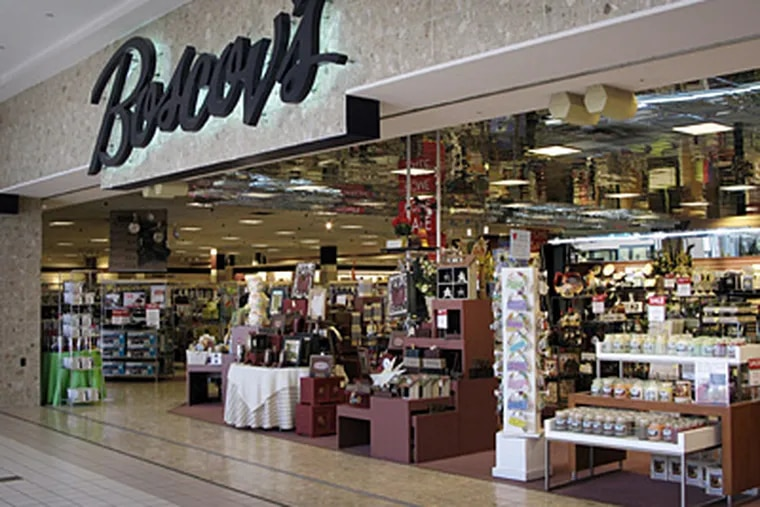The Boscov's store at the Granite Run Mall in Media, Pa. Boscov's has filed for bankruptcy and plans to close 10 unprofitable stores. (Laurence Kesterson / Inquirer)