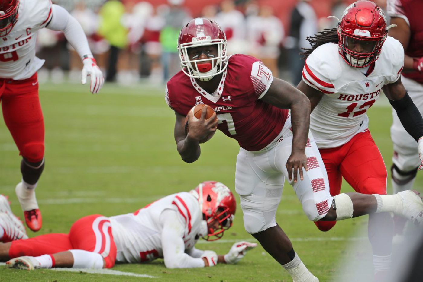 Owls encouraged by second-half ground effort in loss to Houston
