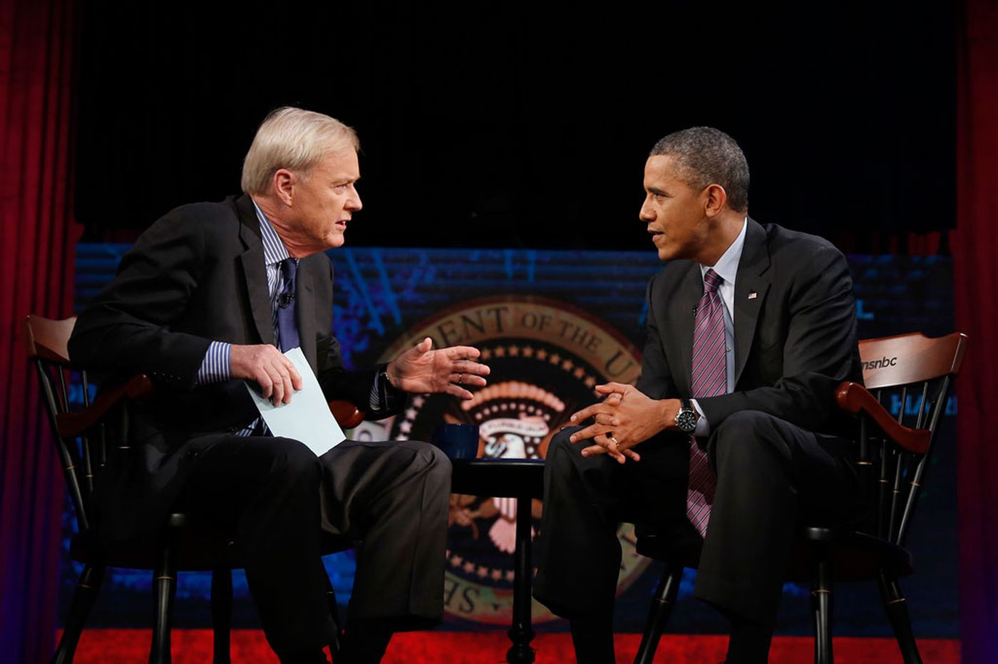 'Hardball' host marks 20 years in the anchor chair