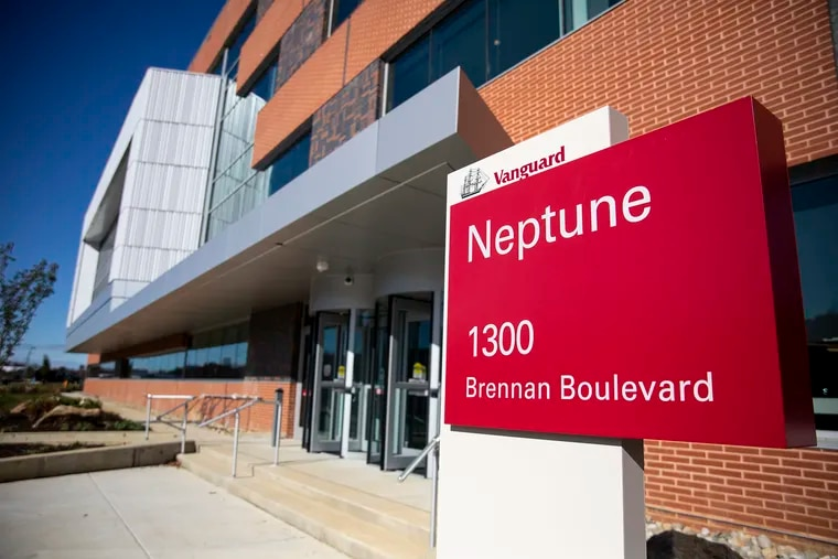 The new Vanguard campus ribbon cutting ceremony took place in the Neptune building where workers came out to support and tour the building on Friday, Nov. 1 2019.