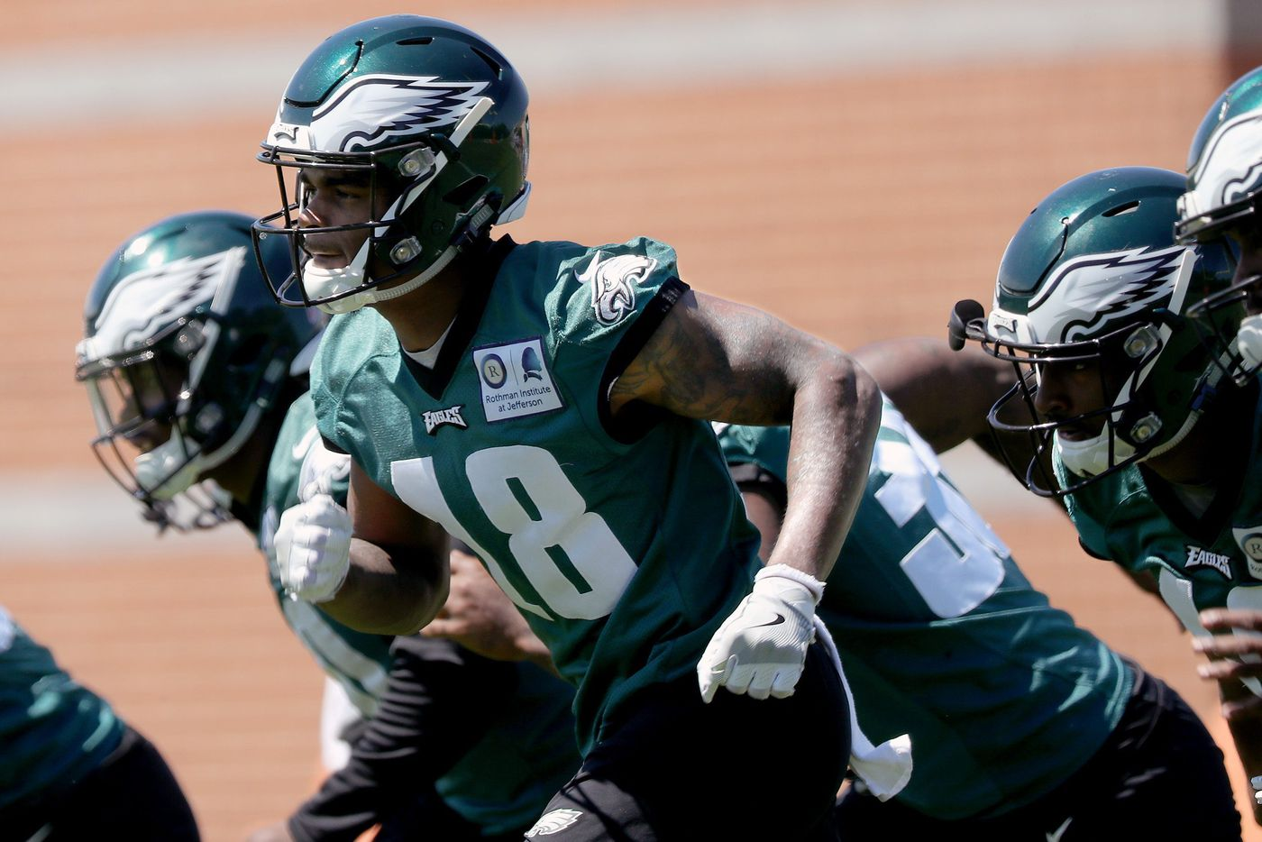 The Eagles' Shelton Gibson is sick of hearing about his potential. He's ready to produce.