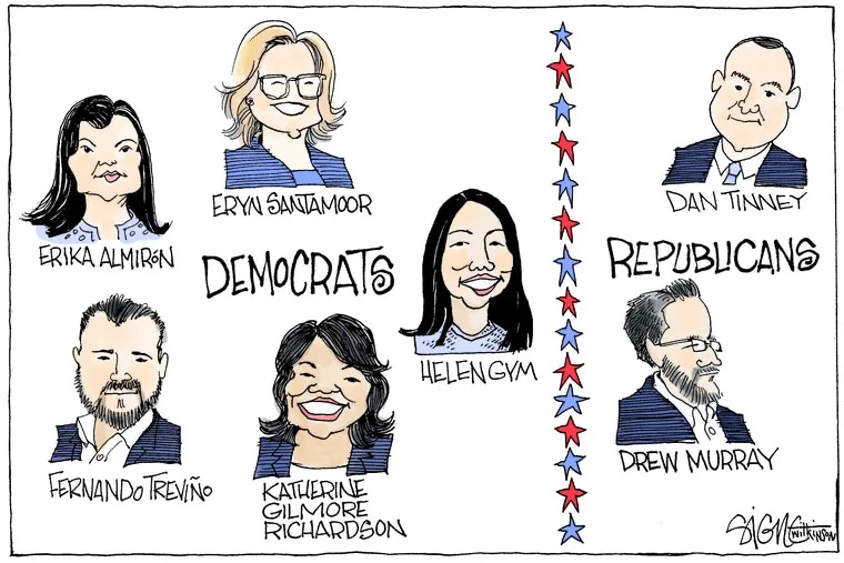 The Inquirer Editorial Board's endorsements for the City Council at-large seats in 2019.