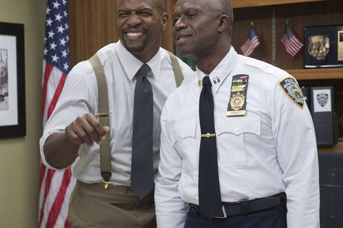 Terry Crews headed for a Super Sunday
