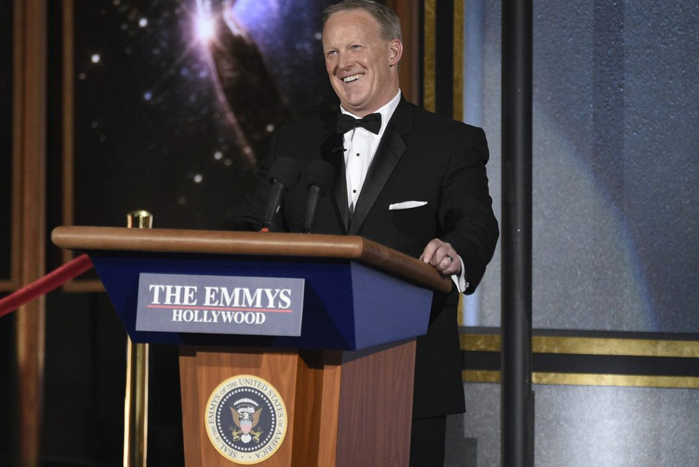 The Emmys, Spicer, and laughing our way toward autocracy | Will Bunch