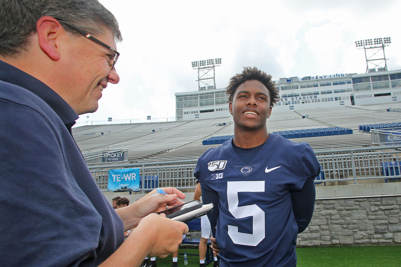 A stronger Jahan Dotson is finding his groove in talented Penn State offense