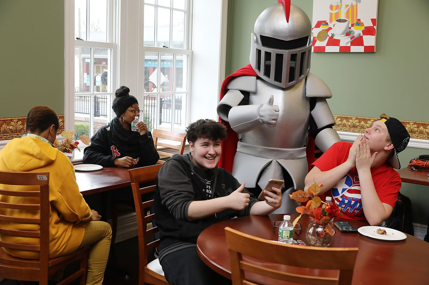Gritty who? A South Jersey college unveils its own new mascot: Barry the Baron