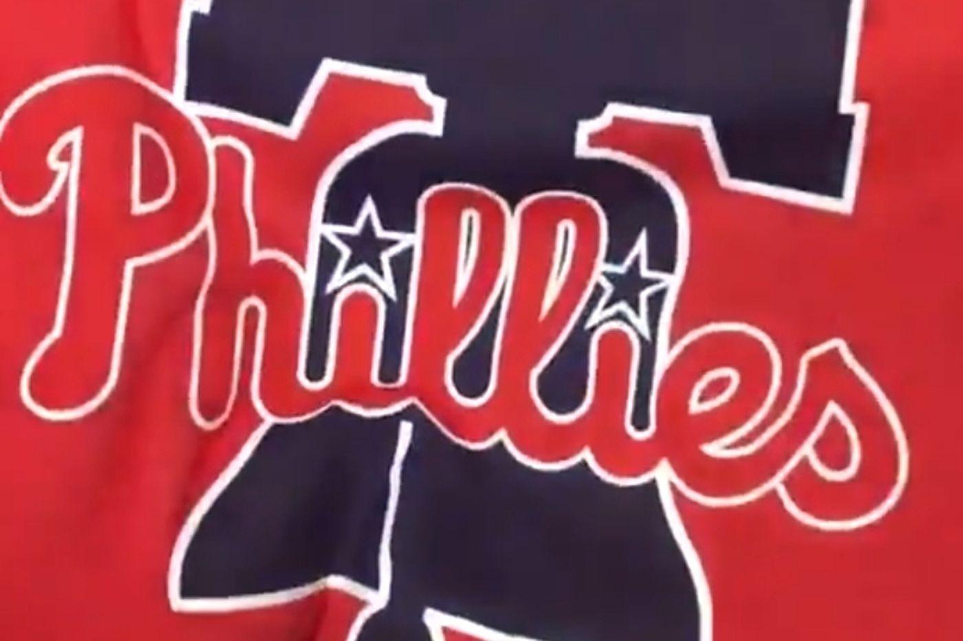 Phillies reveal new primary logo