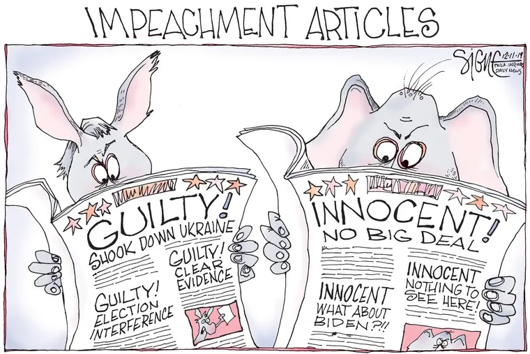 The great divide on impeachment