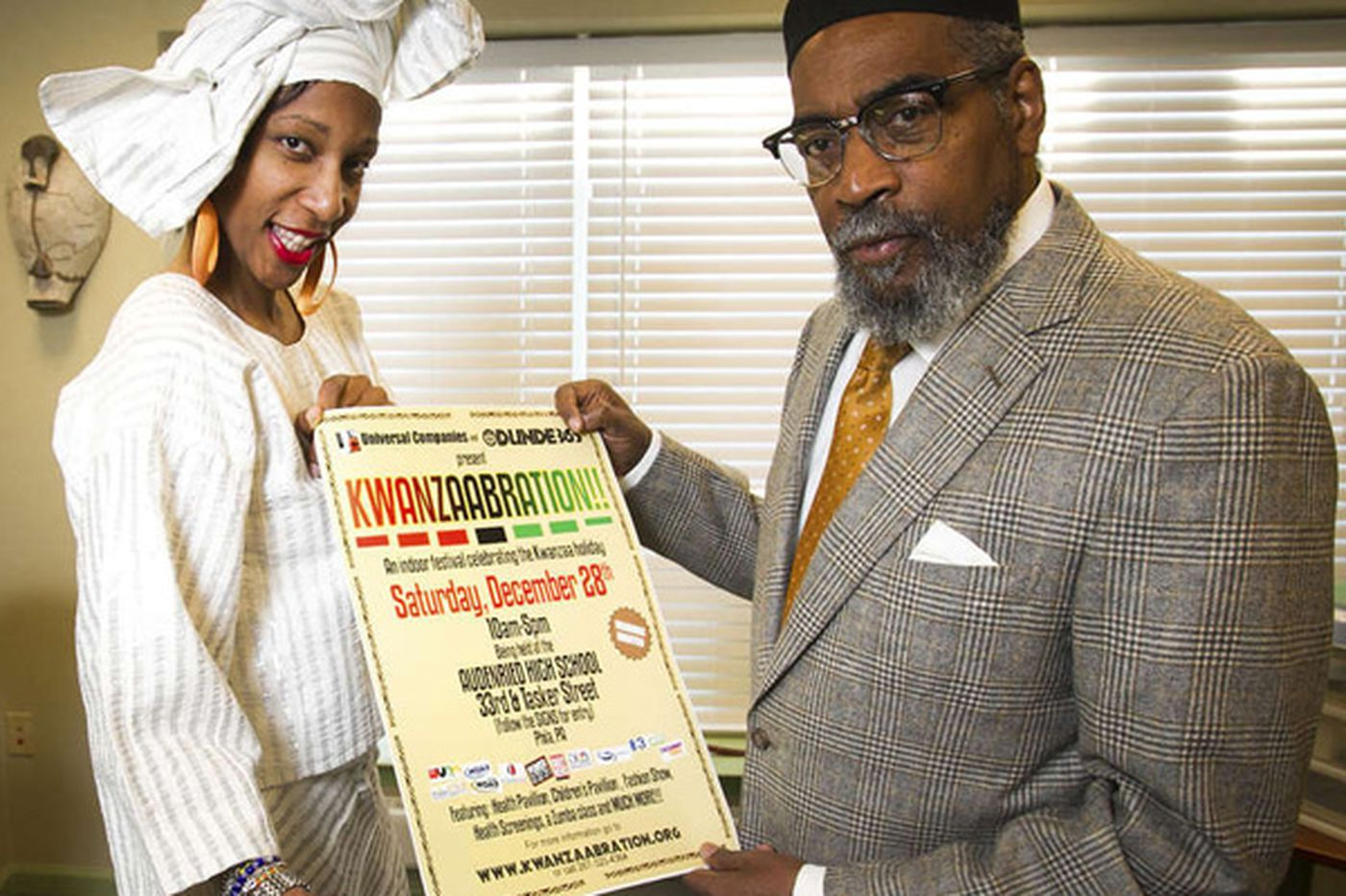 Music icon Kenny Gamble to hold Kwanzaa event on Saturday
