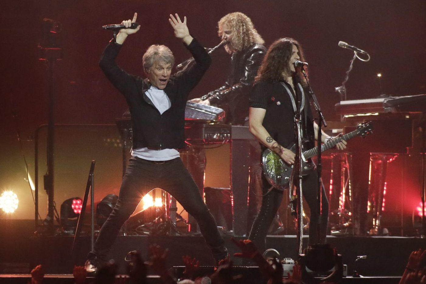 Bon Jovi celebrates WMMR's 50th birthday at the Wells Fargo Center