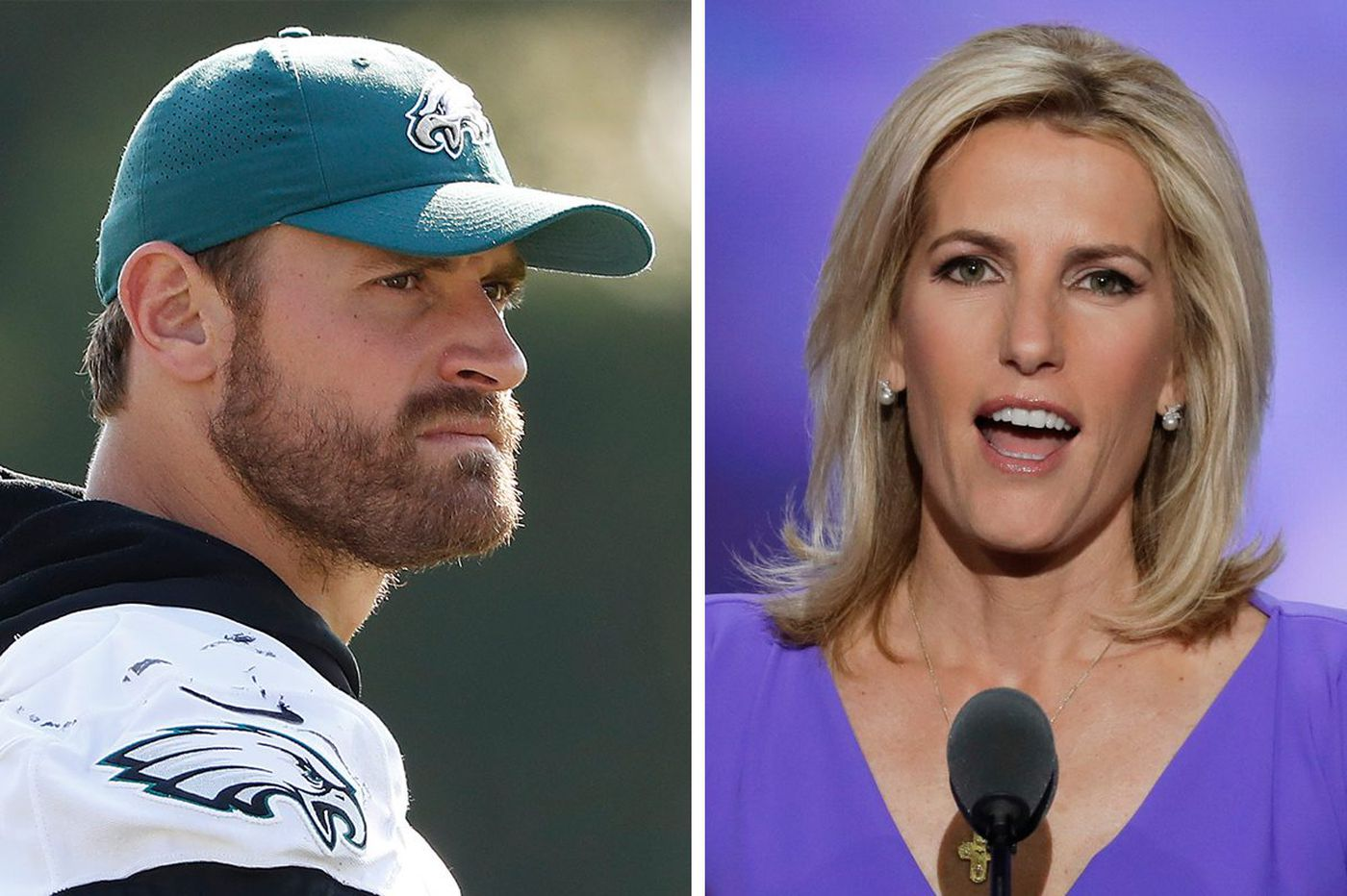 Fox News host wants LeBron to 'shut up and dribble.' That upset Eagles defender Chris Long.