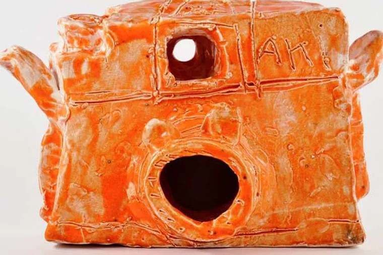 """Alan Constable's """"Untitled"""" (2011), ceramic, at Fleisher/Ollman Gallery through June 8"""