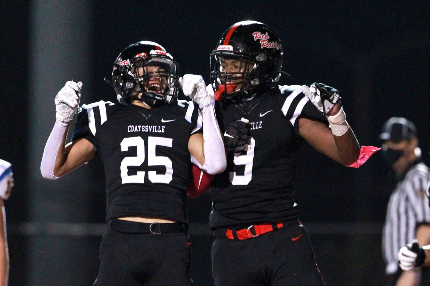 Coatesville beats Downingtown East, 20-14, to clinch first in Ches-Mont National