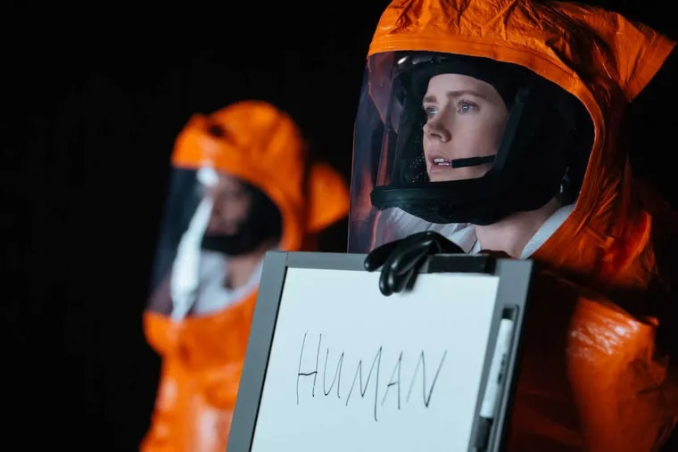 """Amy Adams  as Dr.  Louise Banks in """"Arrival."""""""