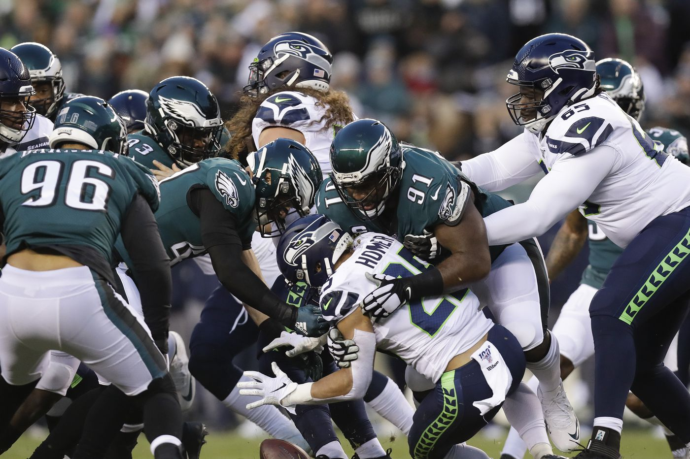 Eagles-Seahawks Up-Down drill: Carson Wentz's injury, Fletcher Cox was a beast, questions about refs