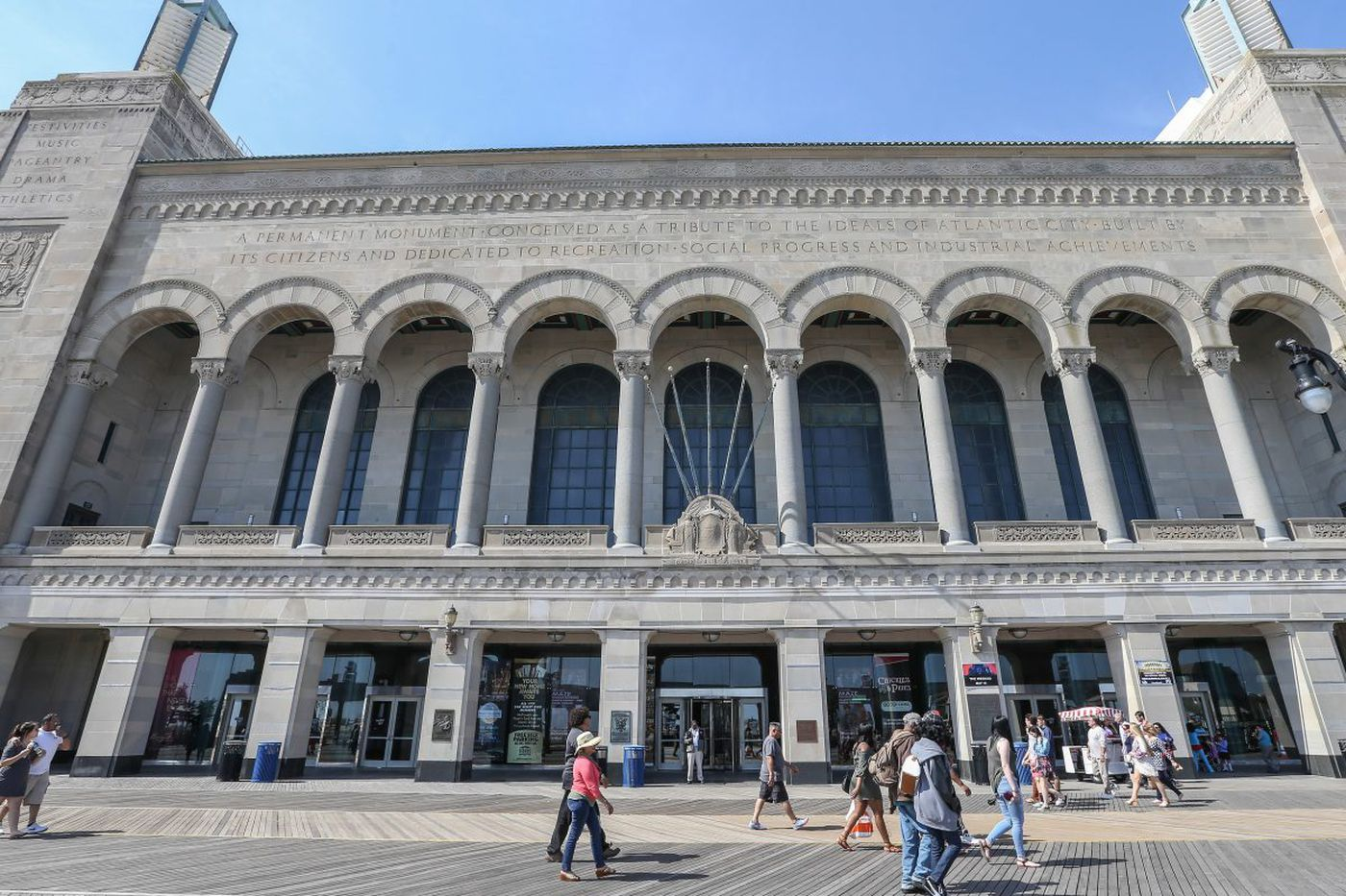 Plans to rename Atlantic City's Boardwalk Hall after Whelan