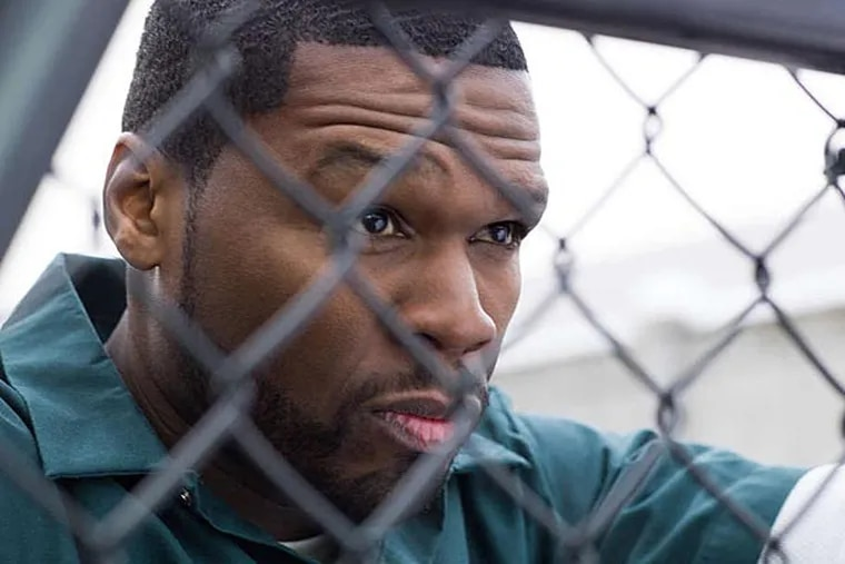 """Curtis Jackson, a.k.a. 50 Cent, is a producer of """"Power"""".  He plays a jailed drug dealer and mentor to the main character in the Starz series, based partly on his life before musical success. (KURT ISWARIENKO)"""