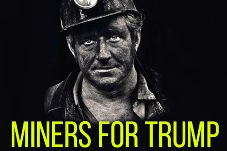 """A """"Miners for Trump"""" rally was announced in October 2016 by the @March_for_Trump Twitter account, which was identified by special counsel Robert Mueller as being run from Russia."""
