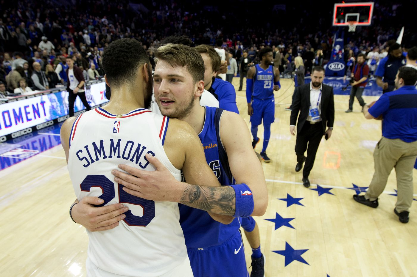 Sixers prepare for second shot at Dallas, first with Luka Doncic