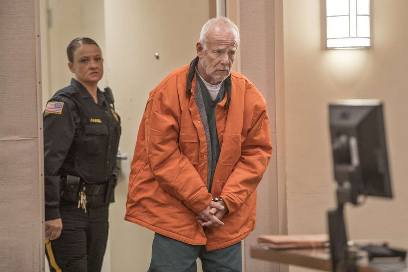 As stepdaughter watches, James Kauffman ordered held for trial in April Kauffman murder