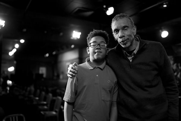 This renowned jazz bassist's newest bandmate is his 12-year-old son