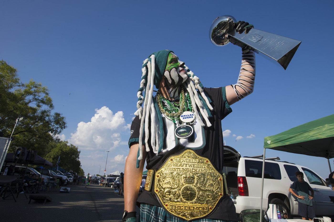 The most Philly tailgating moments at the Eagles season opener