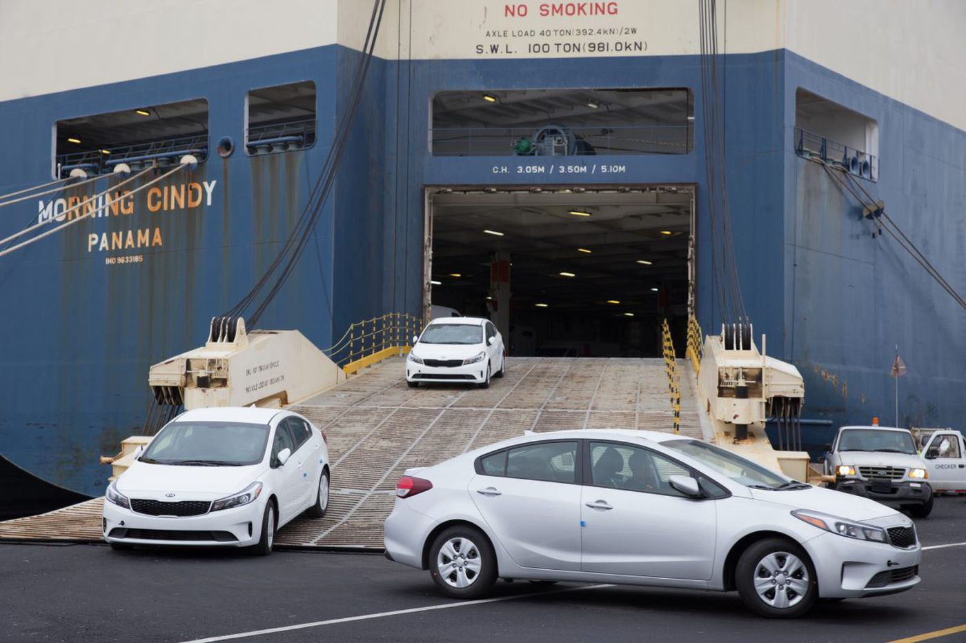 Pier 122 in South Philadelphia gets a new life handling autos