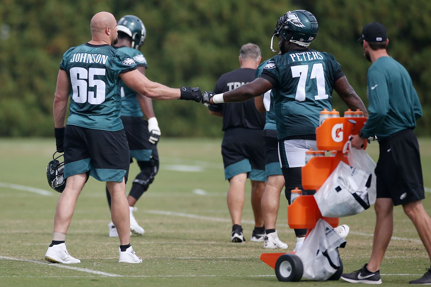 Jason Peters could return to Eagles lineup as Doug Pederson says several injured players will practice