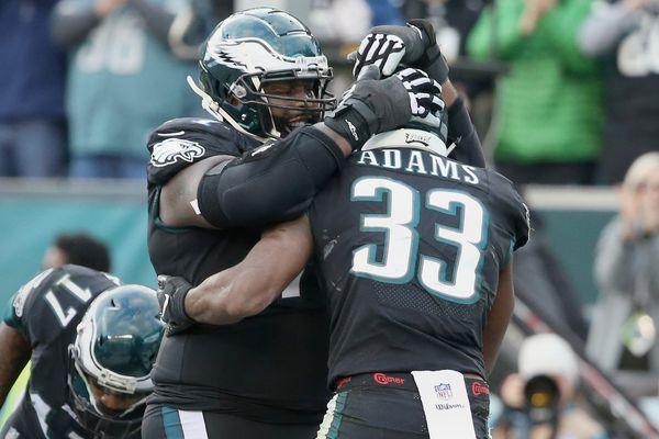 Eagles beat Giants: Josh Adams, offensive line trending up; Pat Shurmur, Eli Manning trending down