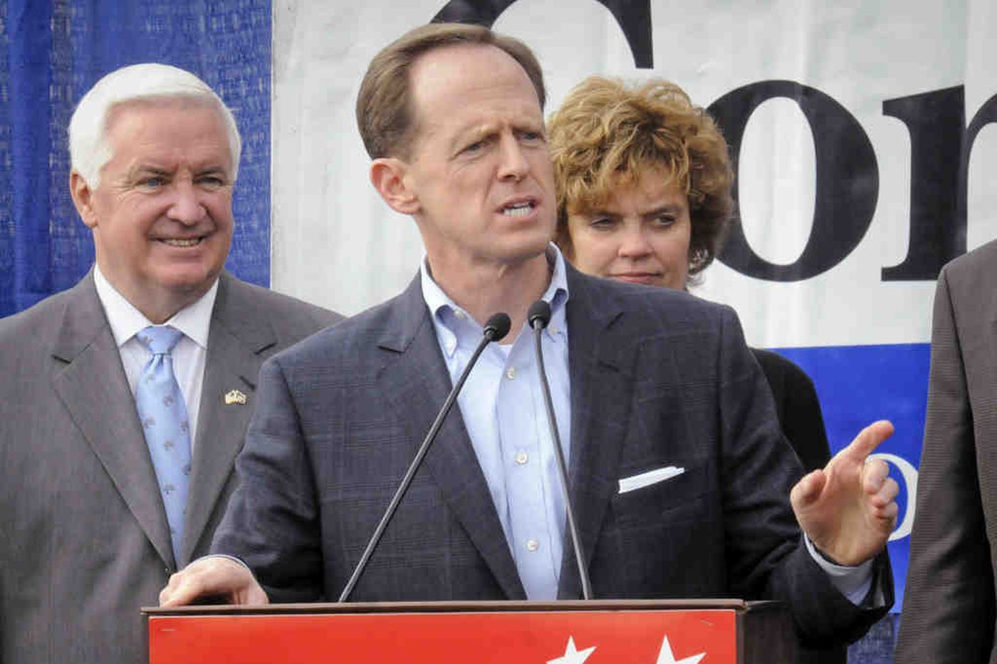 Sestak and Toomey pick up late endorsements