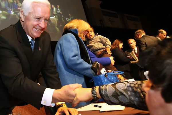DN Editorial: IS HE LEARNING?: Corbett shows some signs of acknowledging education's need for more $
