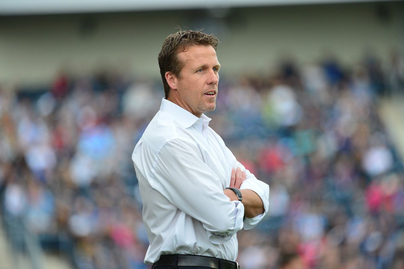 Former Union coach John Hackworth wants another shot at working in MLS