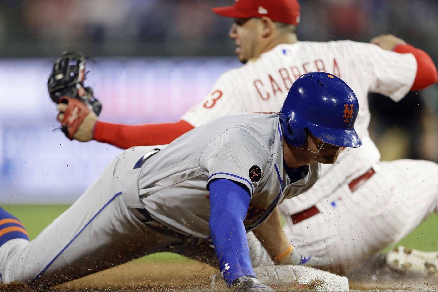 Asdrubal Cabrera injured in Phils' loss to Mets | Extra Innings