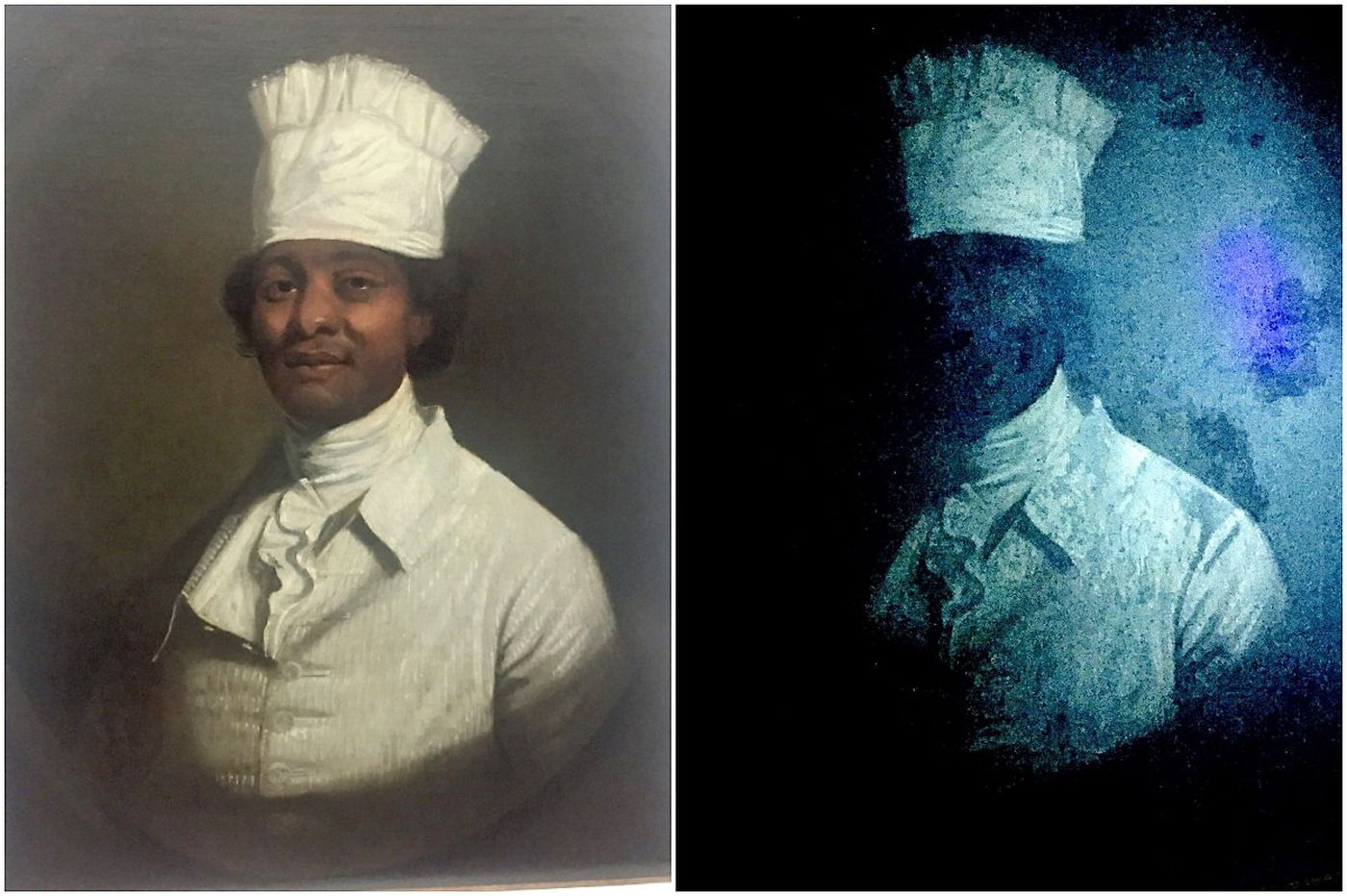 Behind the story: How experts knew the painting wasn't Hercules and wasn't a Gilbert Stuart