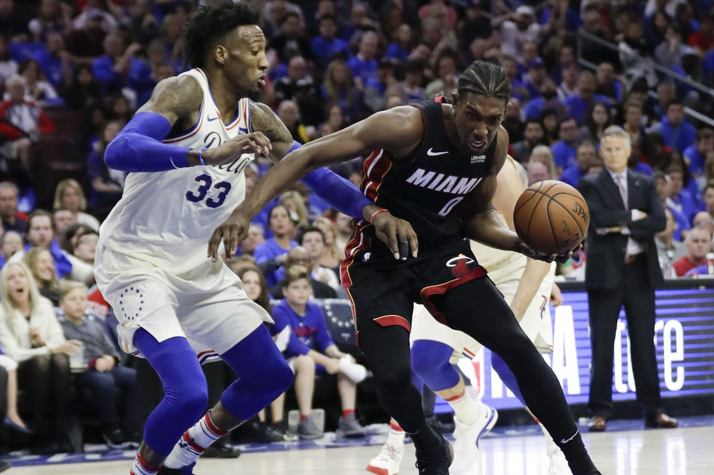 Robert Covington's defense key in Sixers' Game 1 win over the Heat in NBA Playoffs