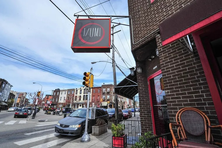 River Twice, billed as a modern American restaurant, will take the space at 1601 E. Passyunk Ave. just vacated by Izumi.