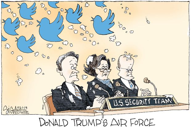 Commander In Chief Trump's Air Force