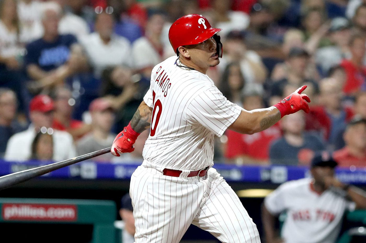 Wilson Ramos is Phillies' hottest hitter, but his health comes first