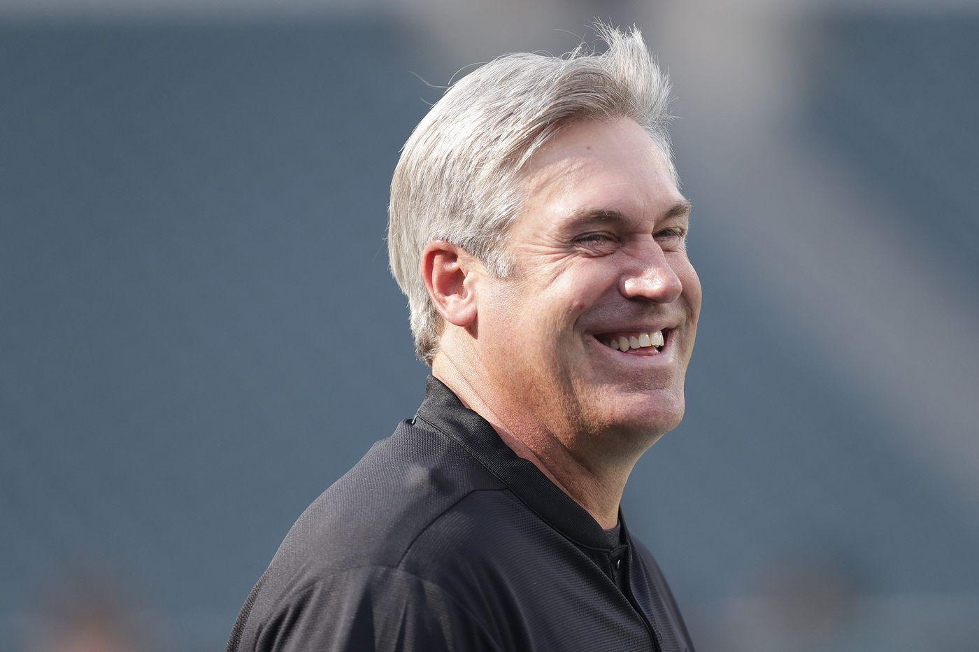 Eagles coach Doug Pederson's new memoir, FEARLESS, reveals a successful coach in spite of self-doubt
