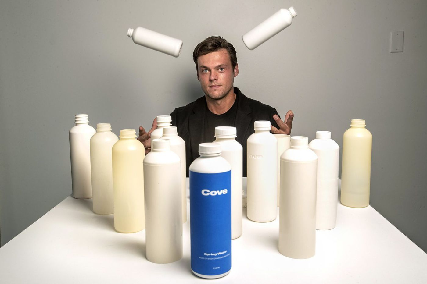 This California firm promises a guilt-free plastic water bottle that breaks down: It's not easy