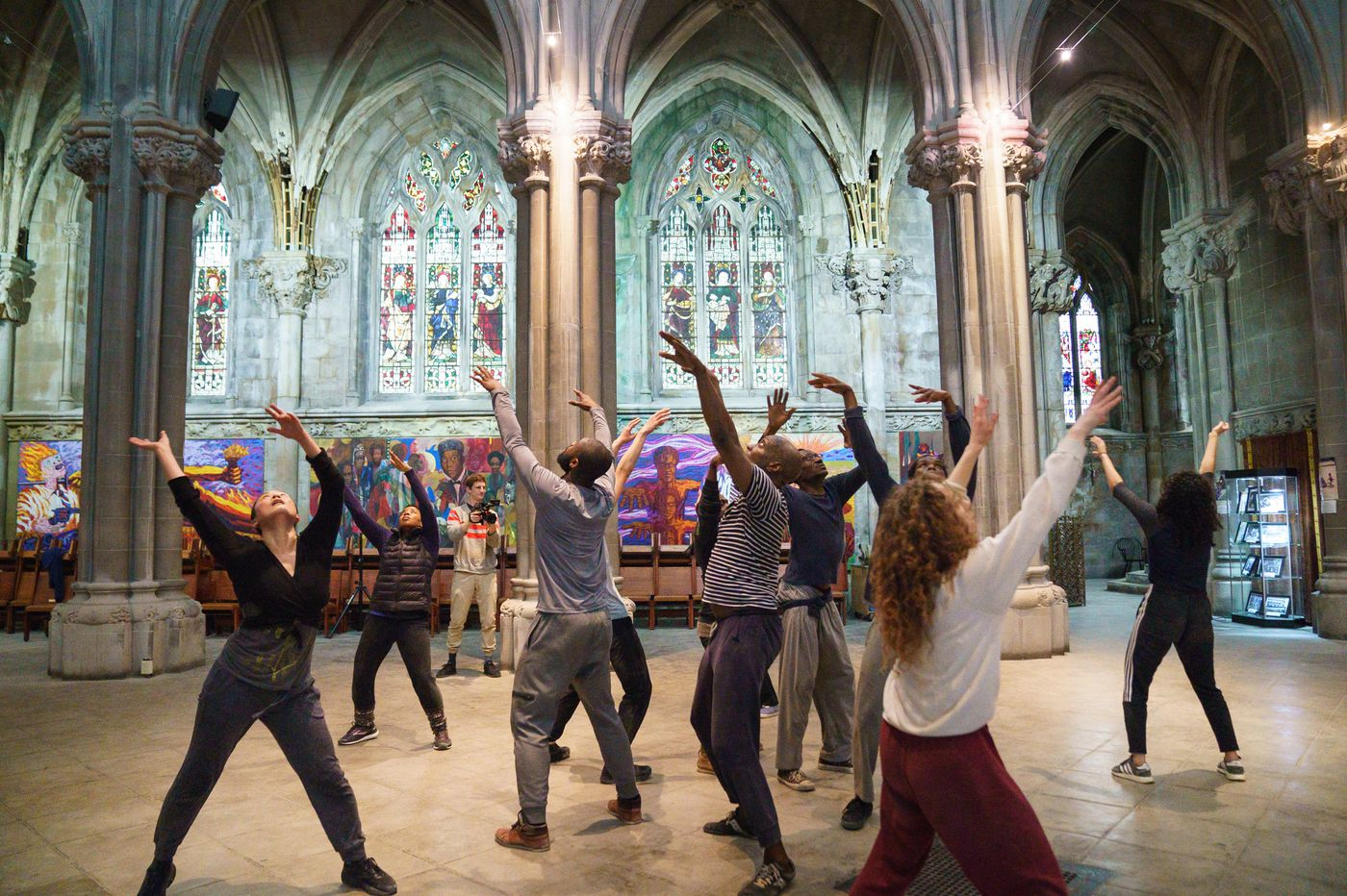 Four historic Philly churches are the unlikely stages for an important new work of American dance