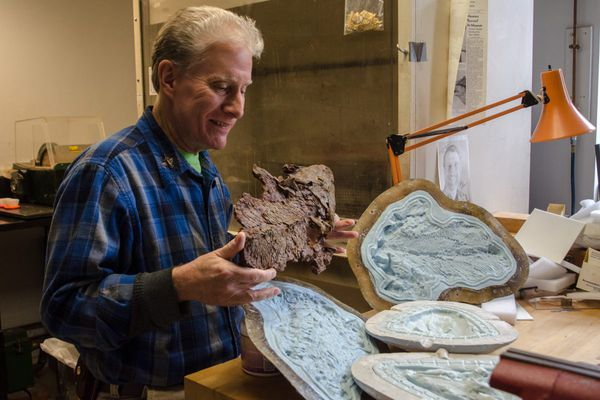 Philly museum's fossil surgeon reveals ancient past