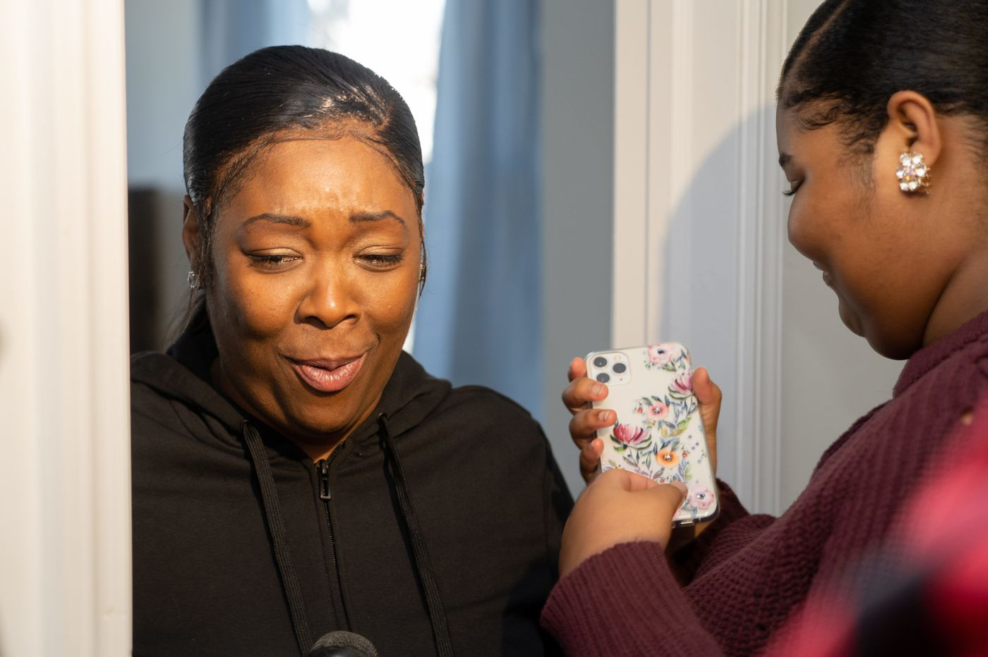A homeless Camden mom worked all year to buy a house. Then volunteers surprised her by filling it with furnishings.