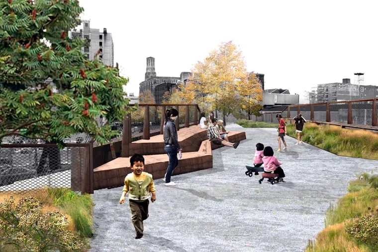 Phase one of the park project will begin before year's end.