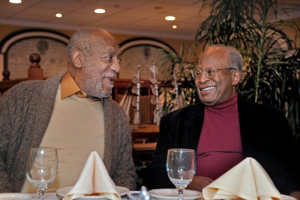 Bill Cosby returns to Philly for a meal, says 'we're ready' for retrial