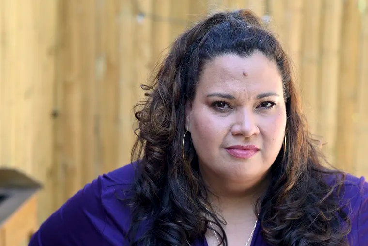 """Erika Almiron, head of the Latino activist group Juntos, had a strong and personal reaction to President Trump's """"Go back to your country"""" statements on Twitter."""