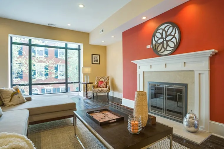 This Rittenhouse home, located at 2123 Delancey Street, is on the market for $1,455,000.