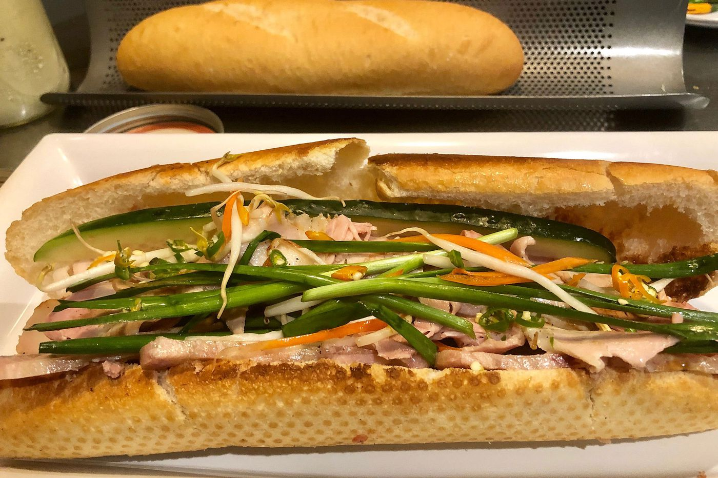 Banh mi from Hop Sing's owner by way of Saigon and ... North Korea?
