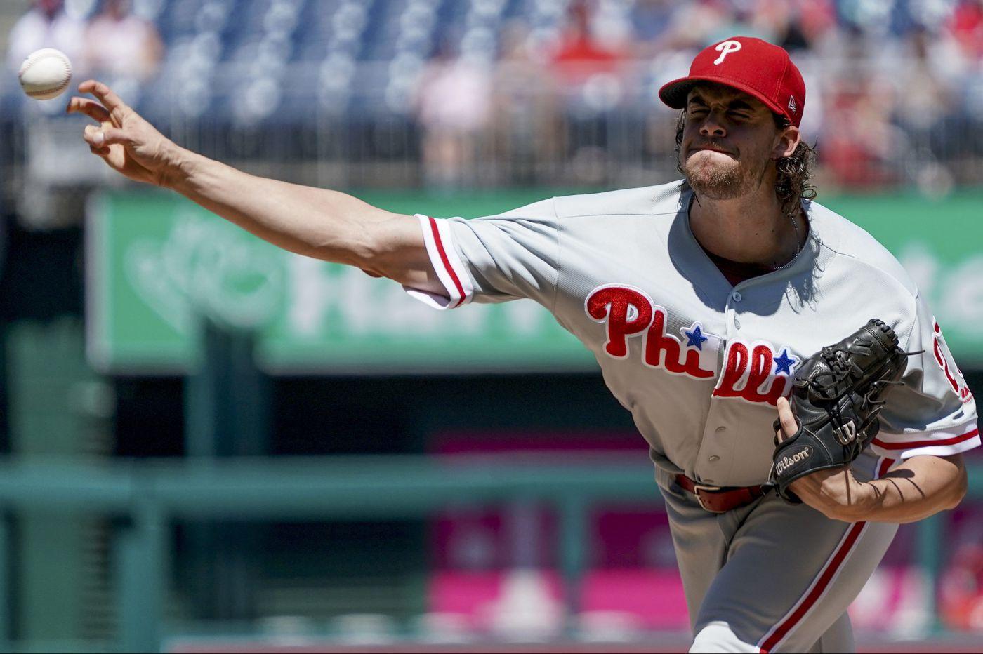 Phillies snap four-game skid on Aaron Nola's gem